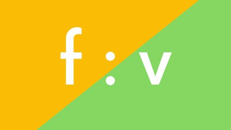 fとvの発音の違い