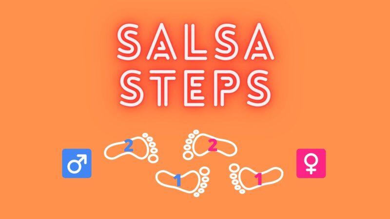 サルサの基本ステップ